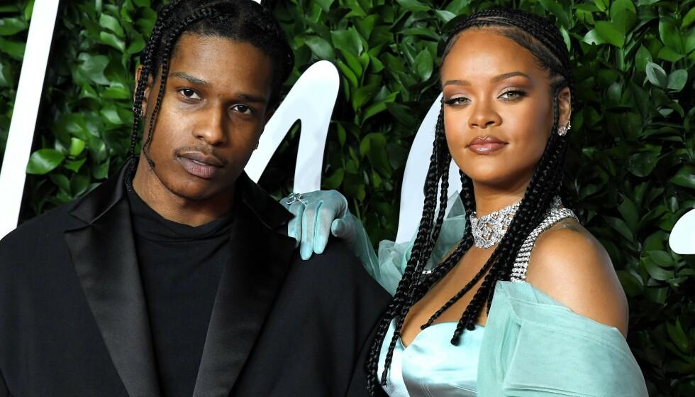 DATER: A$AP Rocky og Rihanna har blitt et par i 2020 – skal man tro amerikanske medier i alle fall ... FOTO: NTB