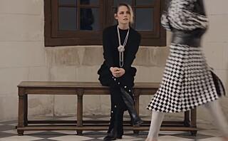 Derfor var hun den eneste Chanel-gjesten