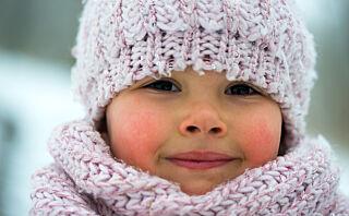Slik steller du barnets vinterhud