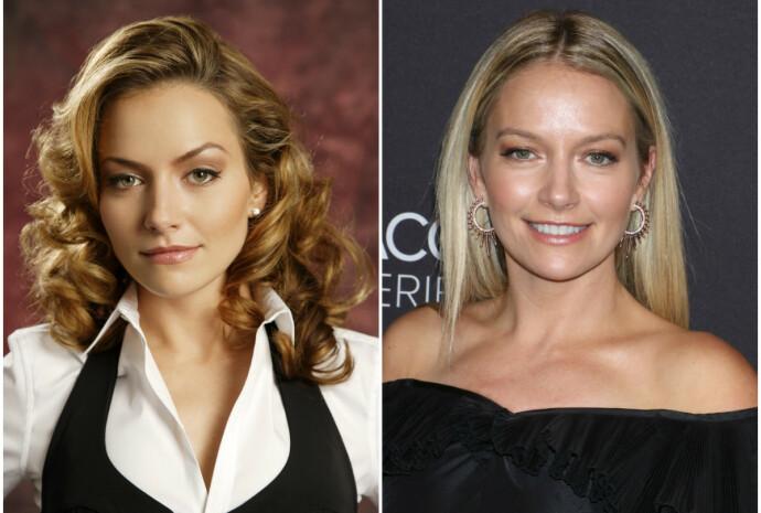 DA OG NÅ: Becki Newton i 2006 til venstre, i 2018 til høyre. FOTO: NTB