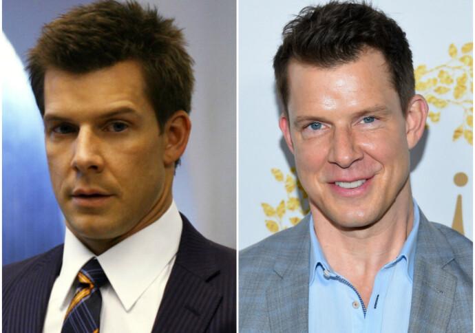 DA OG NÅ: Eric Mabius i 2006 til venstre, i 2019 til høyre. FOTO: NTB