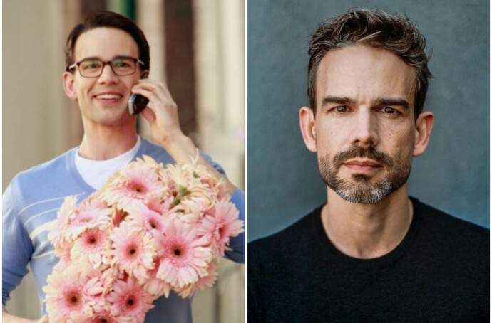 DA OG NÅ: Christopher Gorham i 2006 til venstre, i 2019 til høyre. FOTO: NTB/Instagram @chrisgorham