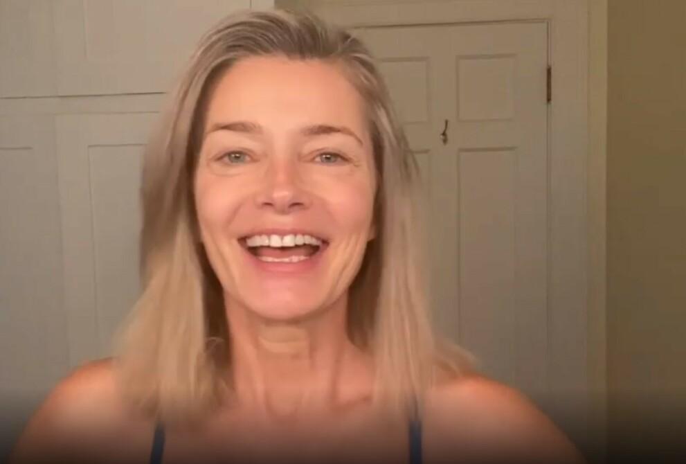 HUDPLEIE: Den tidligere Sport Illustrated-modellen Paulina Porizkova avslører sine beste triks for plettfri hud. FOTO: Skjermdump Instagram