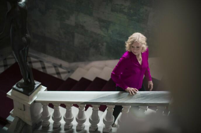 LEVD LIV: Liv Ullmann byr både på anekdoter og levd liv i portrettintervjuet hun har gjort med KK, i anledning tildelingen av æresprisen «Årets kvinne 2020». Liv Ullmann får prisen for en formidalbel karriere i inn og utland, og for å ha satt dype spor etter seg både foran og bak kamera. FOTO: Astrid Waller