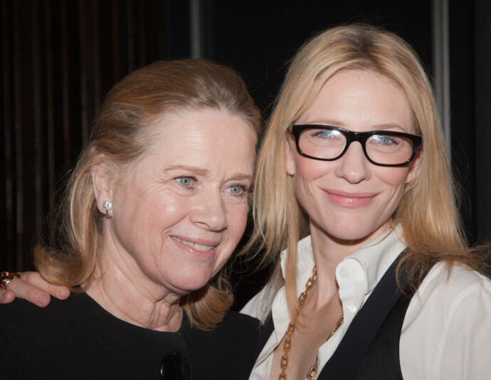 UFORGLEMMELIG SAMARBEID: Liv Ullmann hadde regi på suksess-forestillingen «Sporvogn til begjær» på Sydney Theatre Company i 2009, som skulle forandre Cate Blanchetts syn på jobben sin totalt. I den eksklusive videohilsenen sendt til KK, forteller Blanchett om sin sterke kjærlighet til Liv. FOTO:NTB