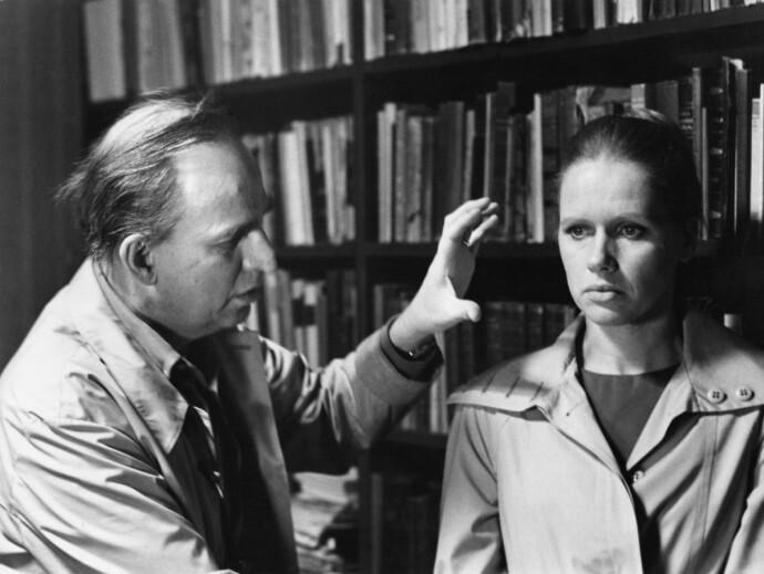 LIV OG INGEMAR: Liv Ullmann og regissør Ingmar Bergman jobbet sammen i en rekke filmer, og mesterregissøren kalte henne «min Stradivarius». FOTO: NTB