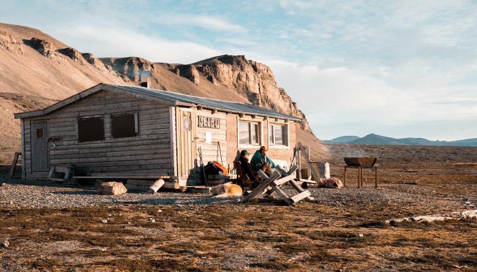 LYS: - Sommeren kan føles slitsom på Svalbard, sier Cecilia. FOTO: Privat