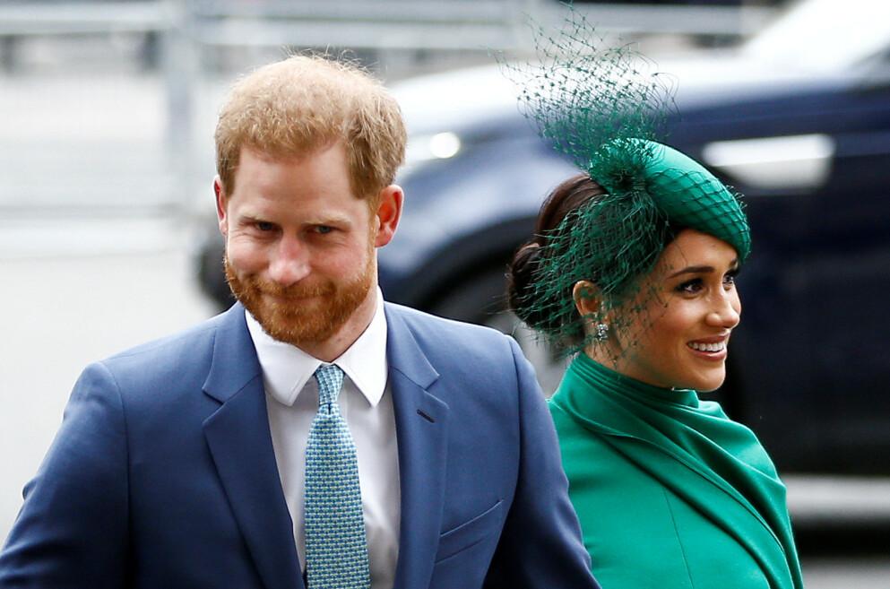JUL: Dette vil bli den første julen hvor Harry og Meghan ikke lenger har en offentlig rolle i den britiske kongefamilien. FOTO: NTB
