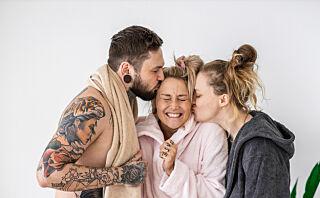Saskia er gift med Marcin og forlovet med Lui