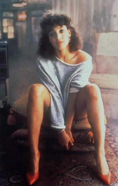 GJENNOMBRUDDET: Jennifer Beals i hovedrollen som Alex Owens i «Flashdance». FOTO: NTB
