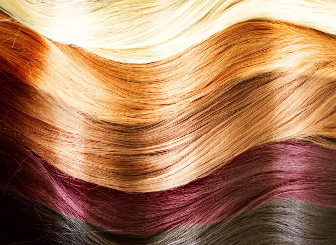 PRODUKTER FOR DEG: Det er ikke gitt alle alle produkter passer til alle hårtyper. Spør gjerne en ekspert om hva som passer for deg og ditt hår. Foto: NTB