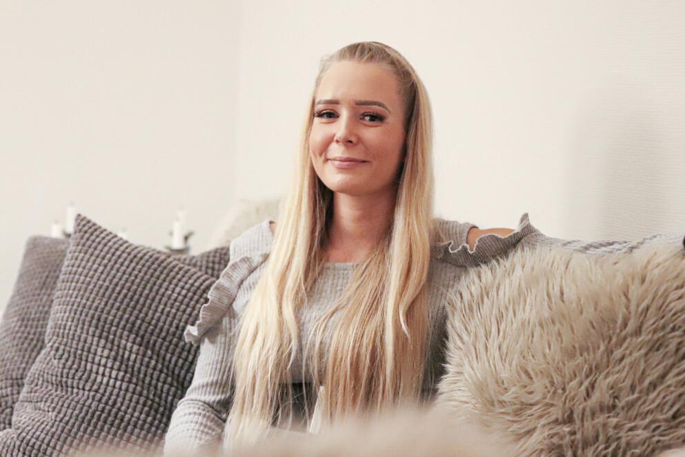 EN TUNG FORTID: Katrine Karlsen Kleven (29) har levd et hardt liv. Hun var avhengig av heroin og tigget etter penger på gata. Foto: Ida Bergersen