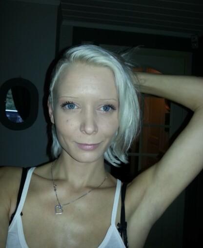 EN HVERDAG MED RUS: Katrine var avhengig av heroin i flere år. Foto: Privat