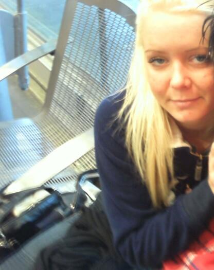 EN TUNG TID: Katrine levde et hardt liv på denne tiden. Foto: Privat