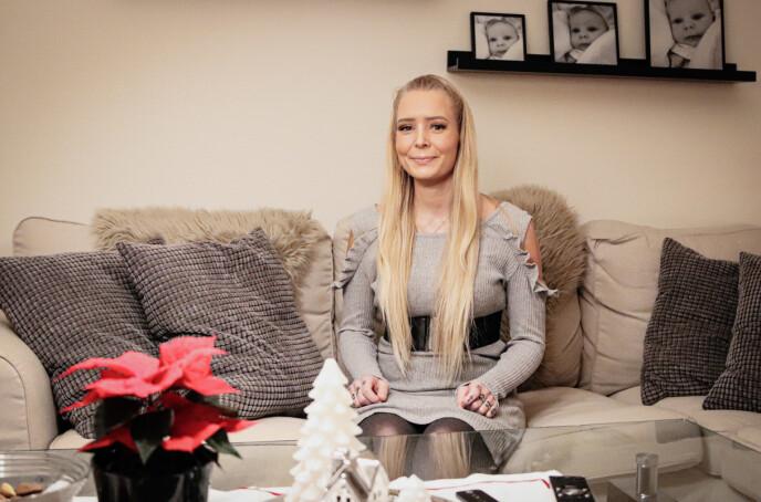 ET NYTT LIV: Katrine lever et helt annet liv i dag, enn det hun gjorde for få år siden. Foto: Ida Bergersen