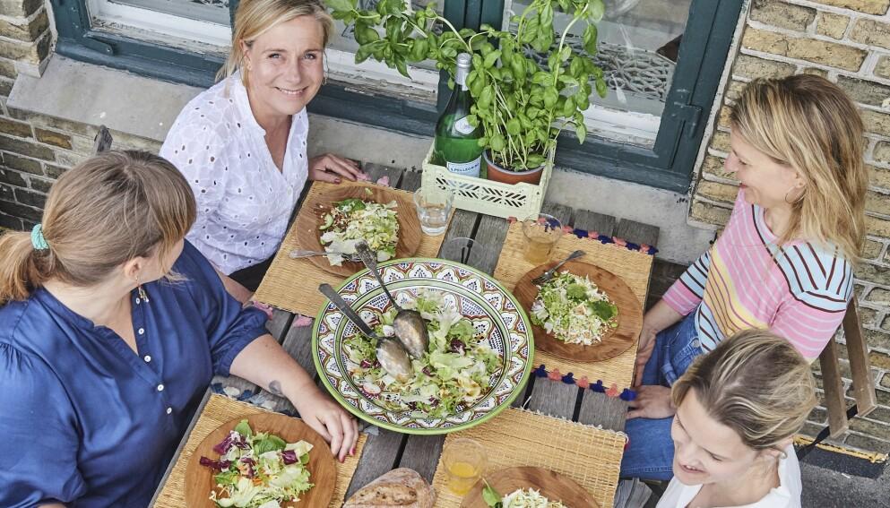 Disse fire damene har sjekket hvordan de likte veganlivet – i sju dager. FOTO: Franne Voigt