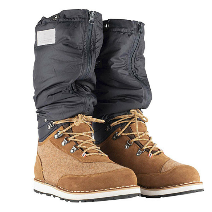 «Winter mucks» er ekstra varme sko som lar deg stå lenge ute uten å fryse (kr 4000, Amundsen).