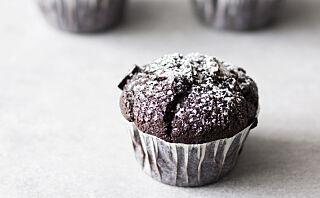 Muffins med rød vri