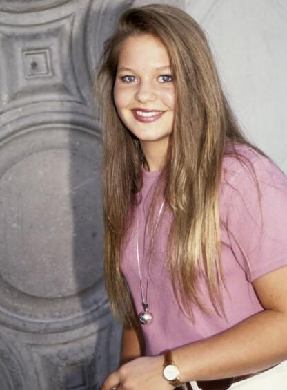 DEN GANG DA: Candace Cameron Bure slik hun så ut da hun spilte DJ Tanner i TV-serien Under samme tak på 80- og 90-tallet. FOTO: NTB