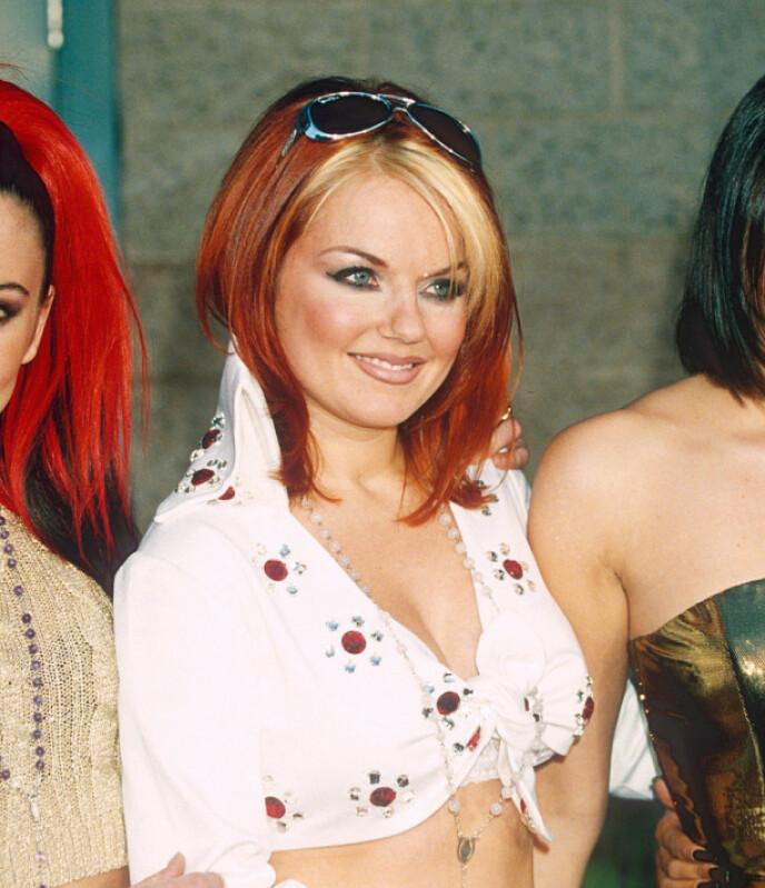 GERI HALLIWELL: Denne frisyren husker nok mange fra hennes Spice Girls-tid. Foto: NTB