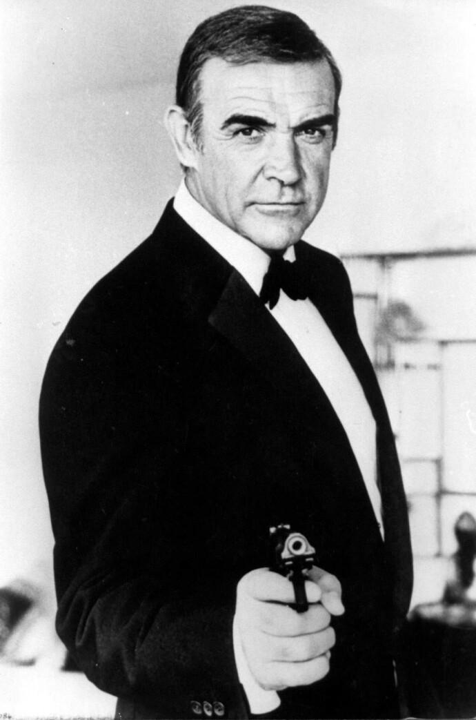 007: Sean Connery spilte den titulære karakteren i syv «James Bond»-filmer fra 1962 til 1983. FOTO: NTB