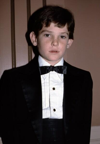 SJARMØR: Henry Thomas avbildet under Golden Globes-prisutdelingen i 1983. FOTO: NTB