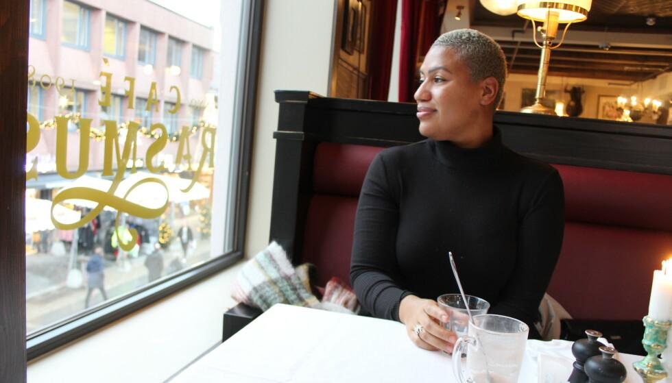 GODT LIV: Maria har bestemt seg for å leve et godt liv uansett hva sykdommen finner på. FOTO: Signe Marie Rølland.