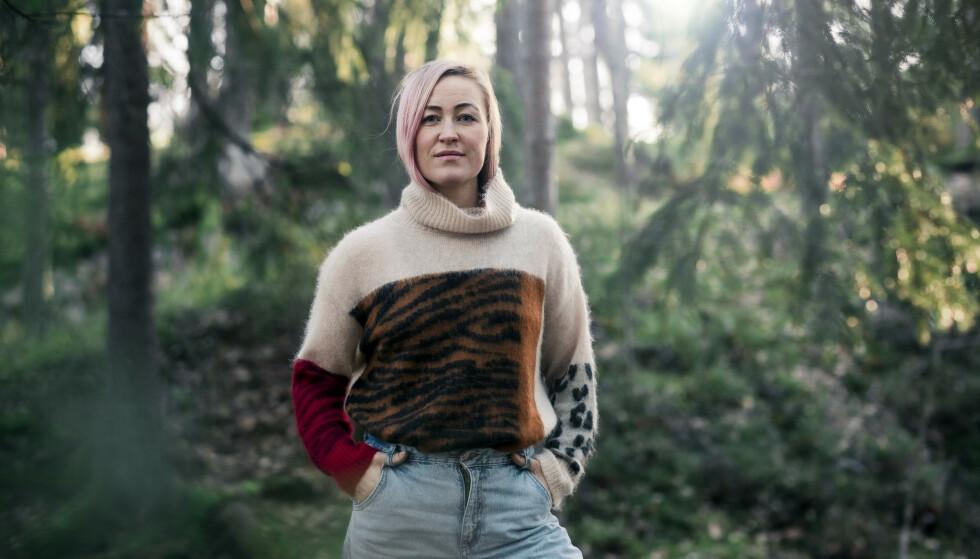 NULL SKAM: KK-spaltist Stine Næss- Hartmann fikk herpes som 19-åring. Det nekter hun å skamme seg over. FOTO: Astrid Waller