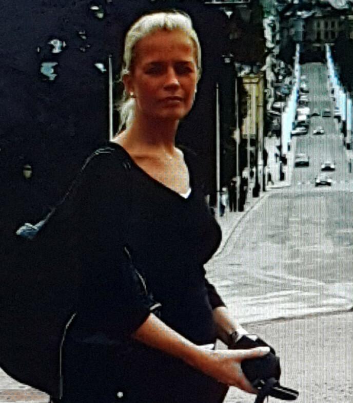 FERIE: Christina var på ferie i Oslo fire år før operasjonen i Polen. FOTO: Privat