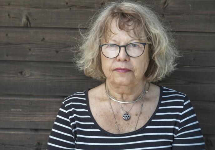 SINT: Ann-Katrin er selv lege, sterkt imot undøvendig kosmetisk kirurgi og er sint på skjønnhetsindustrien som tjener penger på andres usikkerhet. Operasjoner og narkose medfører alltid en risiko, påpeker hun. FOTO: Manne Widung