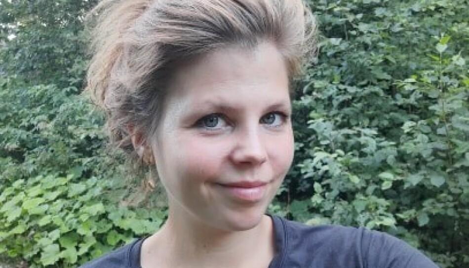 FØDSELSANGST: Ida Arnesen (31) forteller hvordan hun selv slet med fødselsangst. FOTO: Privat