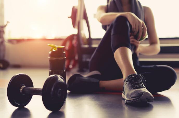 GÅTT FOR HARDT UT? Pass på at du ikke går for hardt ut slik at du blir lei treningen. Foto: NTB