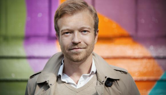 KAN VIRKE SKJERPENDE: Psykolog Lars Halse Kneppe forklarer at et visst nivå av stress ikke er farlig, så fremt det ikke blir for høyt og varer for lenge. FOTO: Anna-Julia Granberg