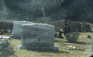 Bildet fra Biden-graven har gått viralt