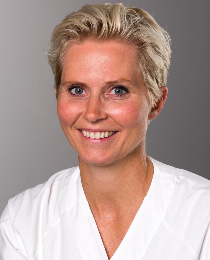 FAGEKSPERT: Overlege Jannicke Andresen ved Nyfødtintensiv på Rikshospitalet, Oslo universitetssykehus. FOTO: OUS