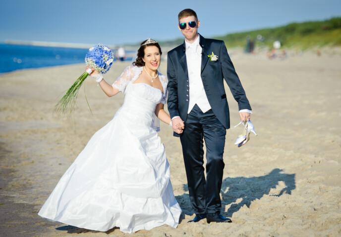 GIFTET SEG: Christian og Nicole giftet seg i 2015. Nå ønsker de å inkludere Fabian i ekteskapet. Foto: Privat