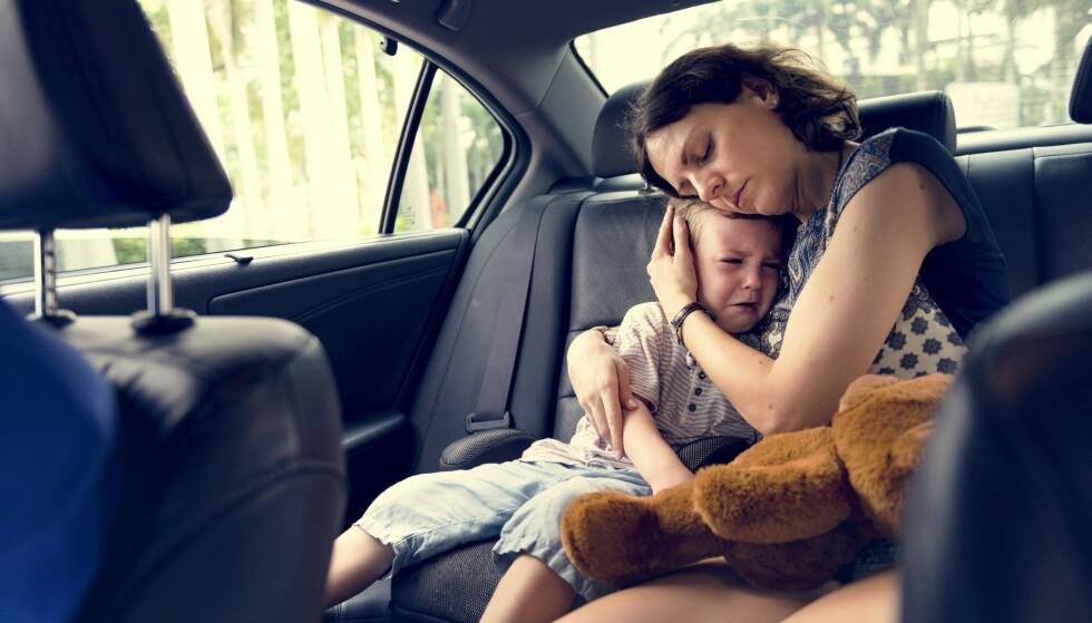 ULIKE FORELDRETYPER: Hvordan foreldre for eksempel møter barnas gråt, kan ha stor betydning for barnas utvikling. FOTO: NTB Scanpix