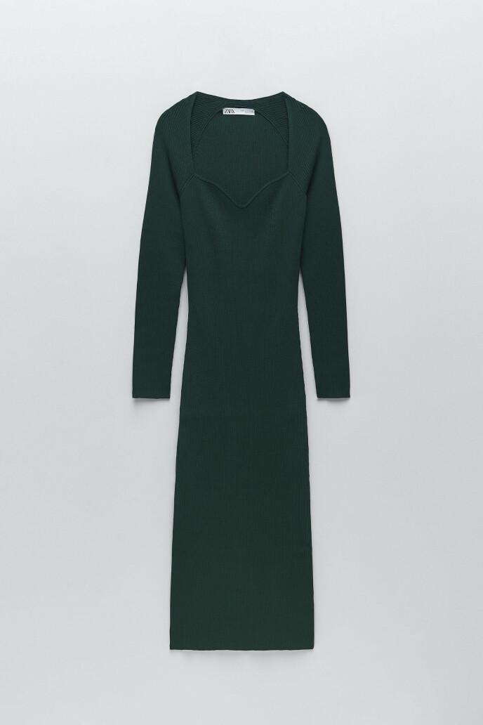 Lang kjole (kr 450, Zara).