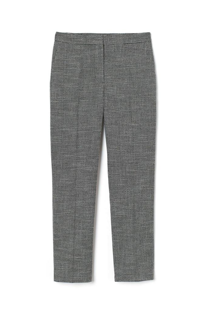 Rutete bukse (kr 300, H&M).