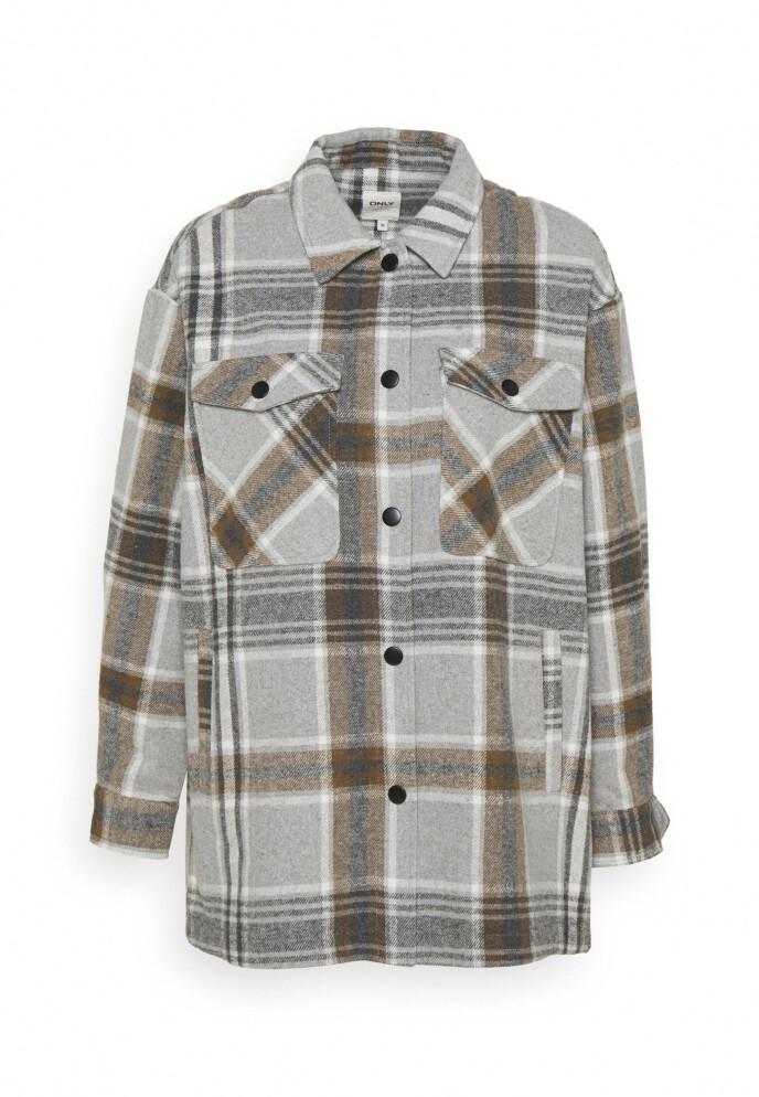 Rutete skjorte (kr 500, Only).