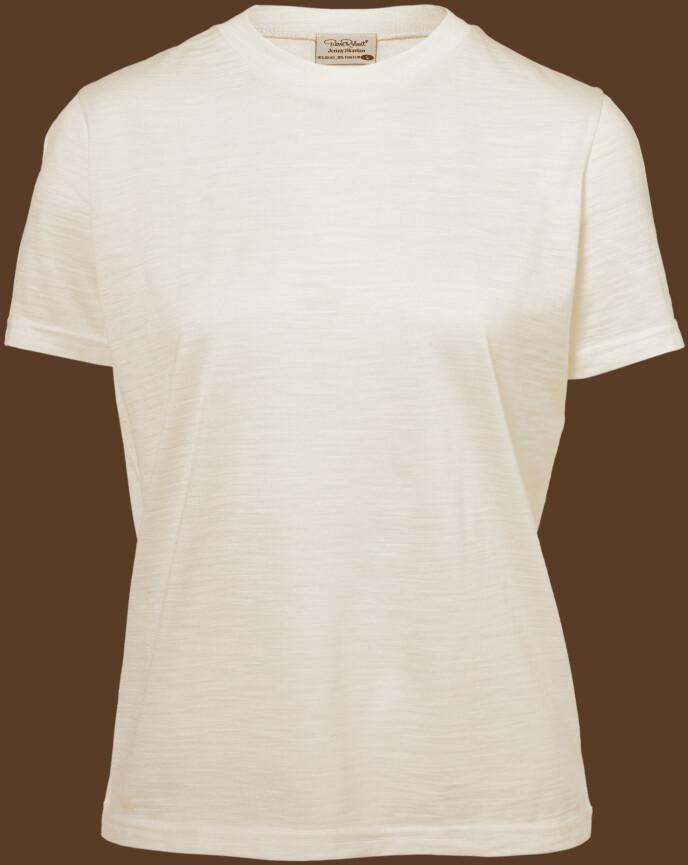 T-skjorte i ull (kr 400, Jenny Skavlan x Pierre Robert).