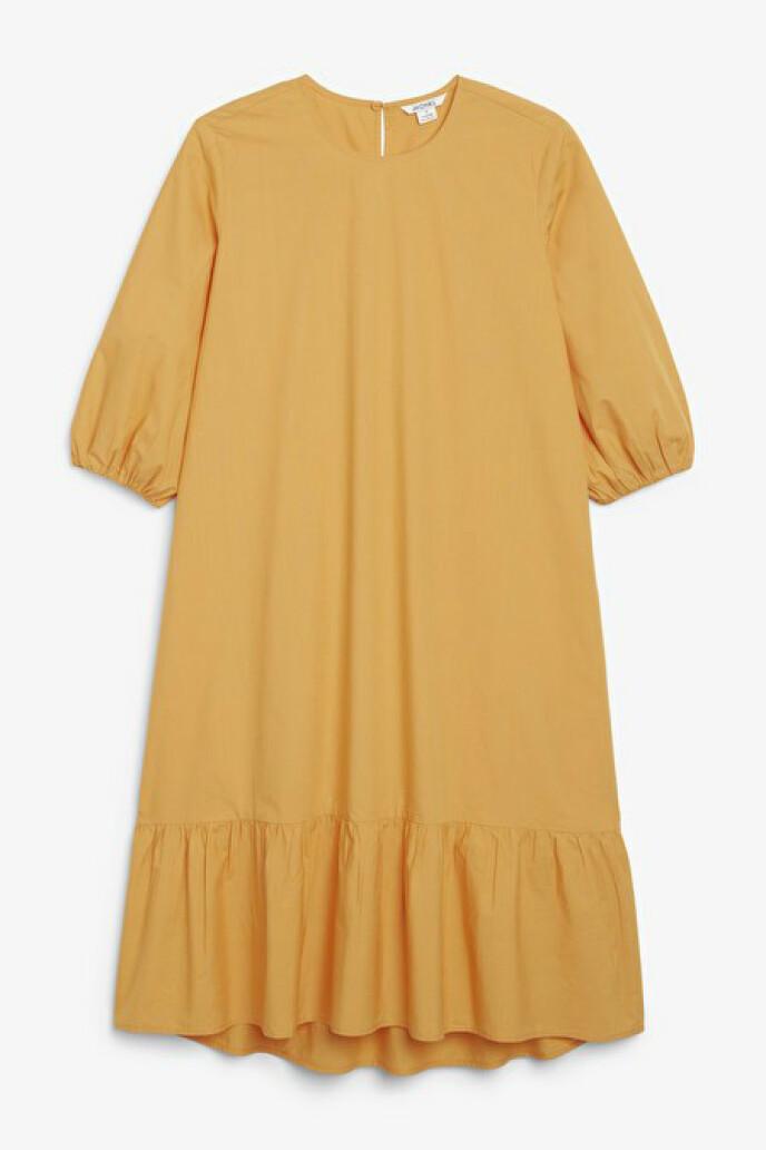 Kjole med A-form (kr 400, Monki).