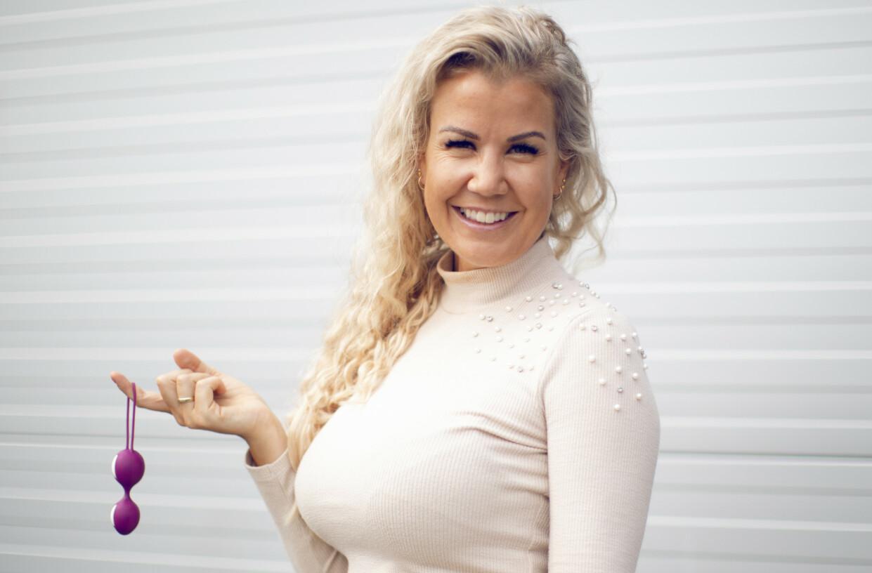 OVERRASKET: Maria K. Ebbestad er overrasket over at nordmenn ikke bruker mer tid på å bli kjent med – og nyte – sin egen kropp. FOTO: NTB