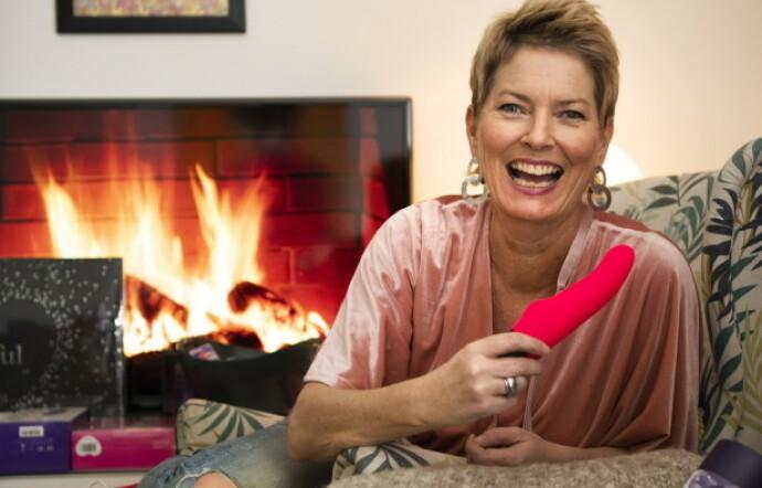 HEIER PÅ ONANI I PARFORHOLD: Cecilie Kjensli har hele 20 års fartstid som sexinspirator. FOTO: Eva Rose