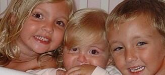 De tre søsknene døde i bilulykke. Et halvt år senere skjedde det utrolige