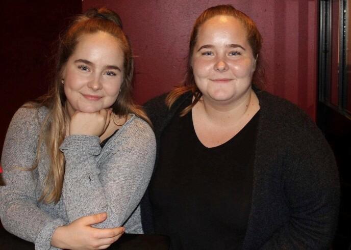 FRA VENSTRE: Emilie og Josefine Christensen. Foto: Privat