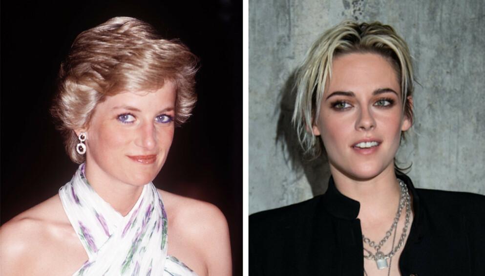 NY FILM: Kristen Stewart skal spille prinsesse Diana i den nye filmen Spencer. Foto: NTB