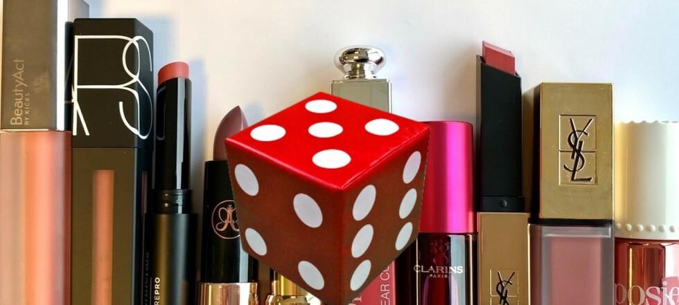 Test av leppestift: Én får terningkast 6