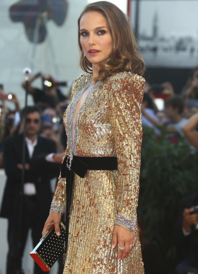 LANG VEI Å GÅ: Natalie Portman under premieren av «Vox Lux» i 2018. Hun husker de tidligere årene på film med blandede følelser. FOTO: NTB
