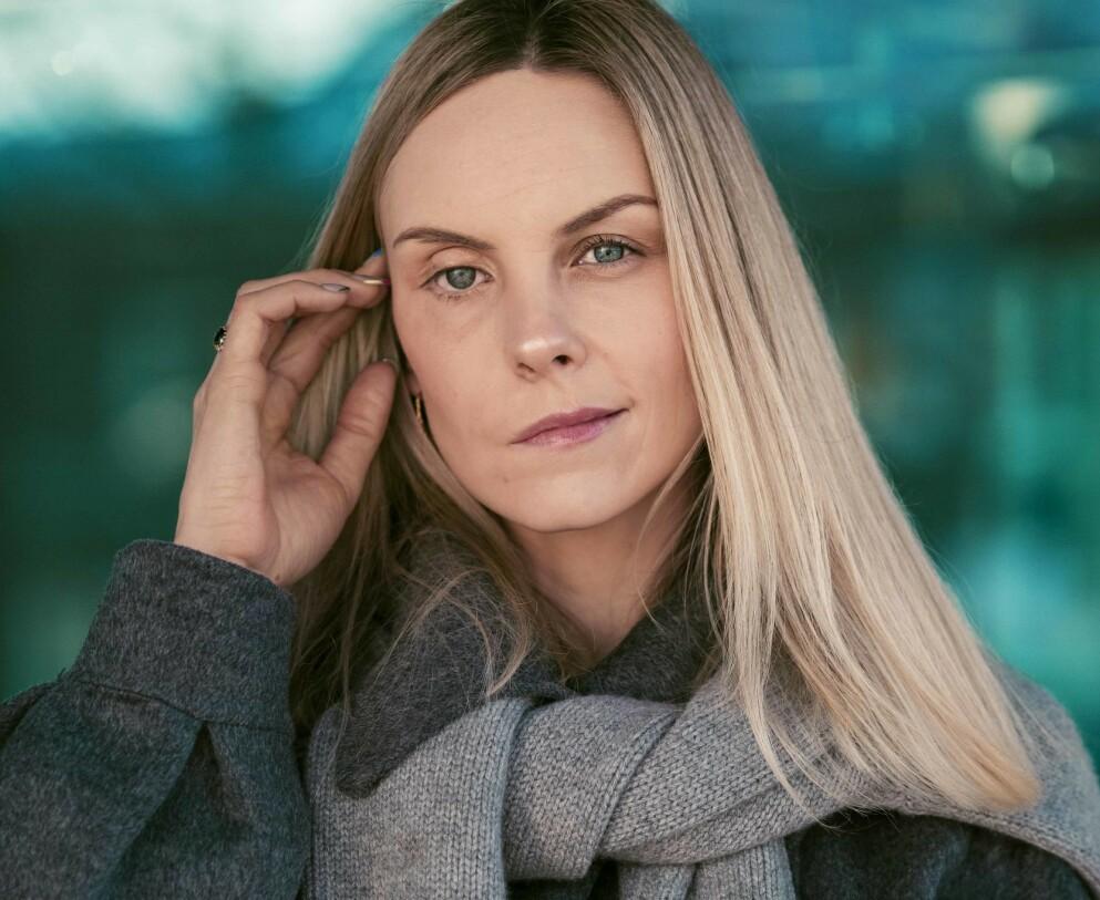 HJERNESVULST: Austėja Kainauskaitė flyttet til Norge fra Litauen på grunn av kjærligheten. I 2013 ble hun rammet av hjernesvulst. FOTO: Astrid Waller